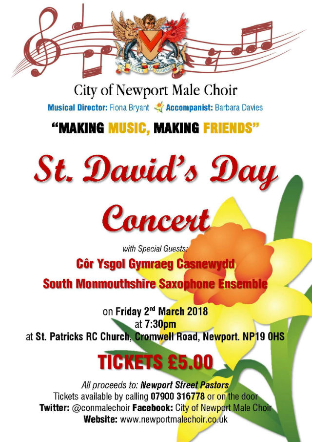 St Davids Day concert 2018 Small